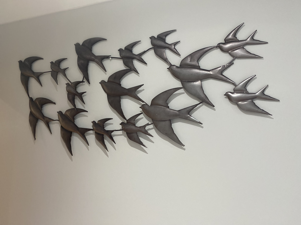Swallow Wall Art sold by Mackenzie Paige Interiors