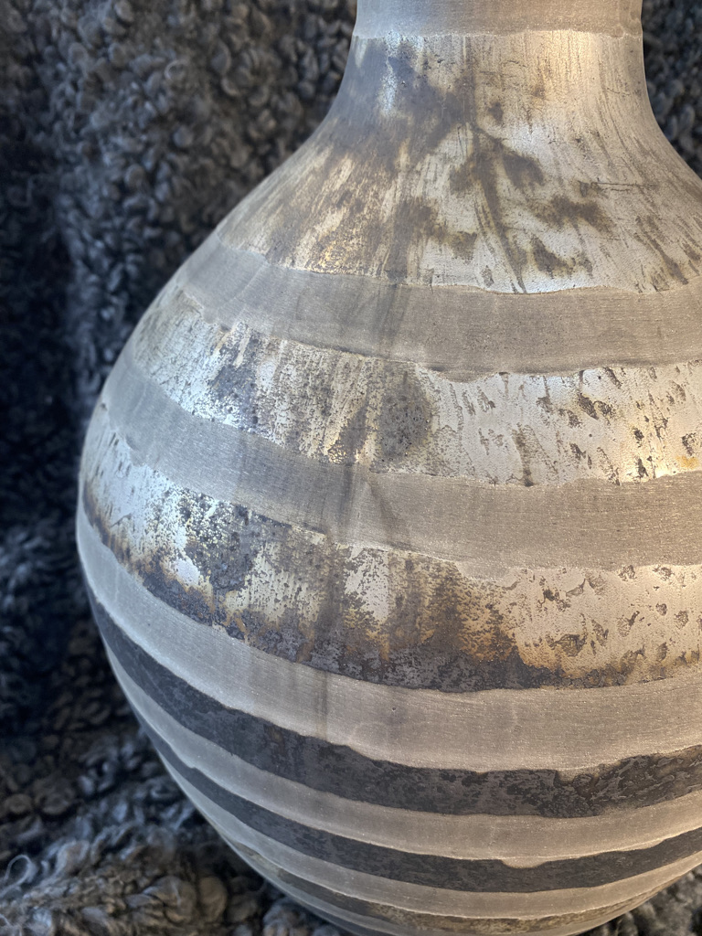 Large striped vase sold by Mackenzie Paige Interiors in Hampshire - image 2